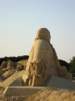 Sand art in burgas 8 by tonev