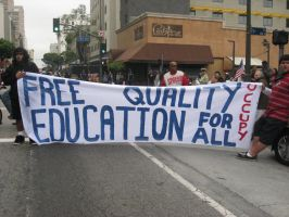 Free Quality Education For All by A-n-t-i-g-o-n-e
