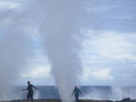 Blowholes by Morethantoday
