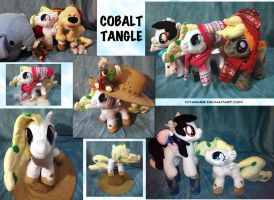 Cobalt Tangle Plush by Kitara88