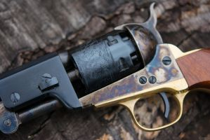 1851 Colt Navy - Replica *Detail* by spaxspore
