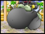 Obese Egyptian Jackal Queen. by Virus-20