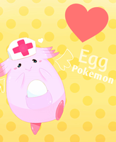+ Chansey + by oronii