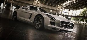 Mercedes-Benz SLS AMG by TheImNobody