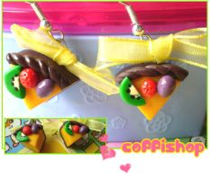 Fruity earrings by coffishop