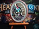 HEARTHSTONE 3D CARD SCULPTURE/PICTURE by AntonioBalicevic