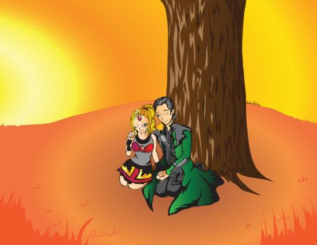 Ember and Loki- not done yet by TheGod2B