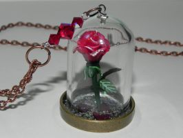 Beauty and the Beast,Floating Rose by Secretvixen