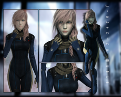 :: LIGHTNING SCARF COMPLETE :: by VincentXyooj