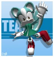3D Teal : Posed by gen8