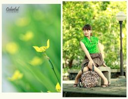 Yellow and Greening My Life by betazanialamirin