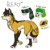 Alex reference by Mishamutt