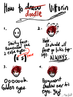 How to doodle Vittorin by OkayIlie