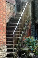 Old stairway by Mark-Allison