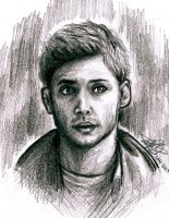 Dean Winchester: Birthday Drawing  by BreathlessDragon