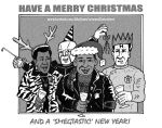 Merry Smegging Christmas! by mikedaws