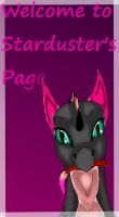 Welcome To My Page by xX-Starduster-Xx
