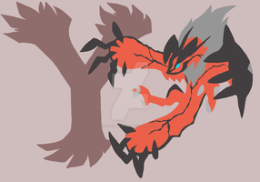 Yveltal by leroybrown96