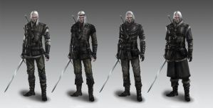 Witcher's armors concept 3 by Afternoon63