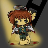Switchblade Angel --CHIBI-- by ticticai