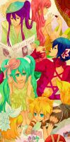 Circus of vocaloid by kuso-taisa