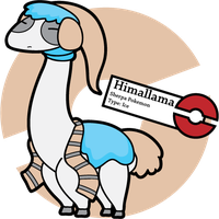 Fake Pokemon: Himallama by Sageroot