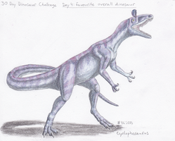 30 Day dino challenge Day 4 by Alhippa