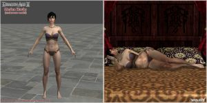 Dragon Age II: FemHawke Underwear model (UPDATED) by Berserker79