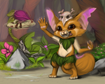 League of Legends Gnar by Hiniaa