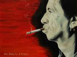 Keith Richards by shaman-art