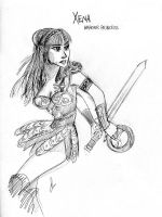Xena warrior princess by batlesbo