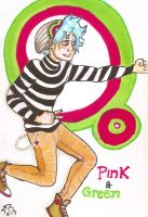 Pink And Green by huntress-for-life