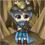 RS: Chibi Mining Guild (Commission) by Tifa-Amakura