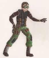 Sam Fisher by charpal
