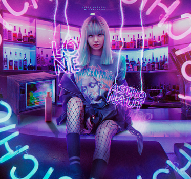 Neon Madness by royalbloodxx