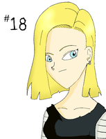 Android 18 by catgirl5472