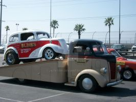 Cool Truck and Drag Car by Jetster1