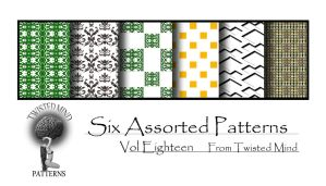 TAM Pattern Set 18 by Textures-and-More