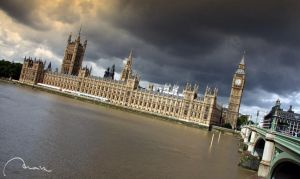 london - house of parliament by moiraproject