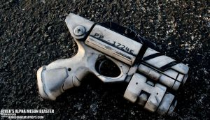 River's Alpha Meson Blaster Replica by JohnsonArms