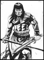Conan the adventurer by MonsterSaw