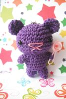 Purple baby bear by Pachyblur