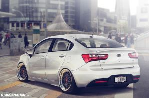 KIA All New RIO sedan Stancelovers by idhuy