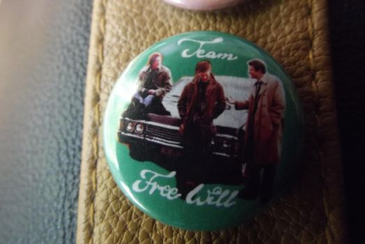 SPN Pin Button by rudeandgingerechelon