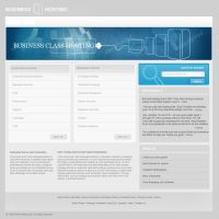 Pure Hosting template by mediarays