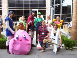 Super Smash Brothers Cosplay by MICHI17