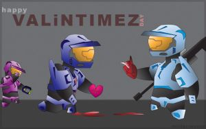 RvB: Happy VALiNTIMEZ by DrummahJen