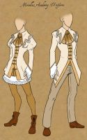 Miriellus Academy Uniforms by Tales-of-Arcea