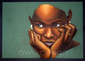African Woman by awu-art