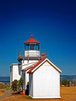 Point No Point Lighthouse. by Mackingster